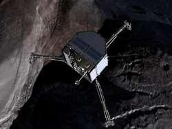 Ziemianie dopadli kometę