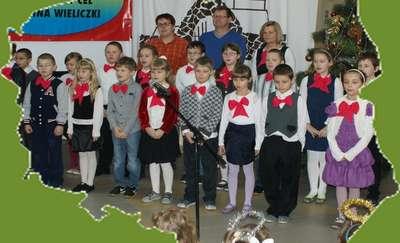 Obchody Święta Niepodległości w Szkole Podstawowej w Wieliczkach