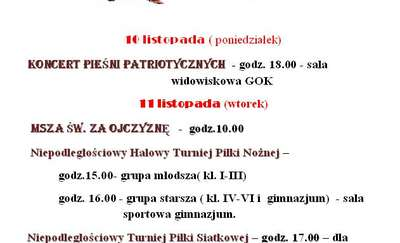 Święto Niepodległości - obchody w Srokowie