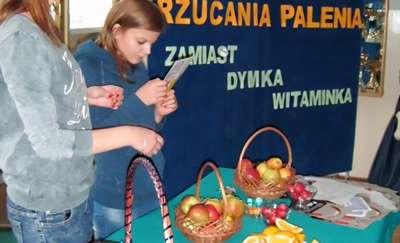Światowy Dzień Rzucania Palenia w ZSCKR w Dobrocinie