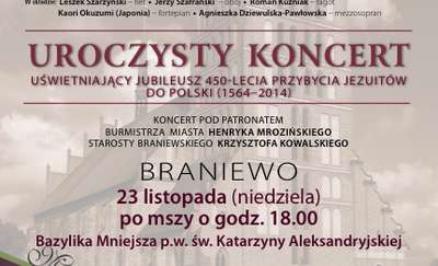 Koncertem i wykładami upamiętnimy 450-lecia przybycia jezuitów do Polski