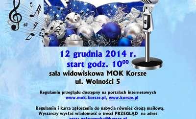 IV Wojewódzki Przegląd kolęd, pastorałek i piosenek świątecznych