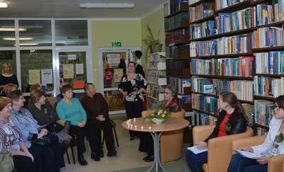 Spotkanie z Weroniką Koloszewską w oleckiej bibliotece