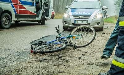Zdarzenia drogowe z udziałem rowerzystów