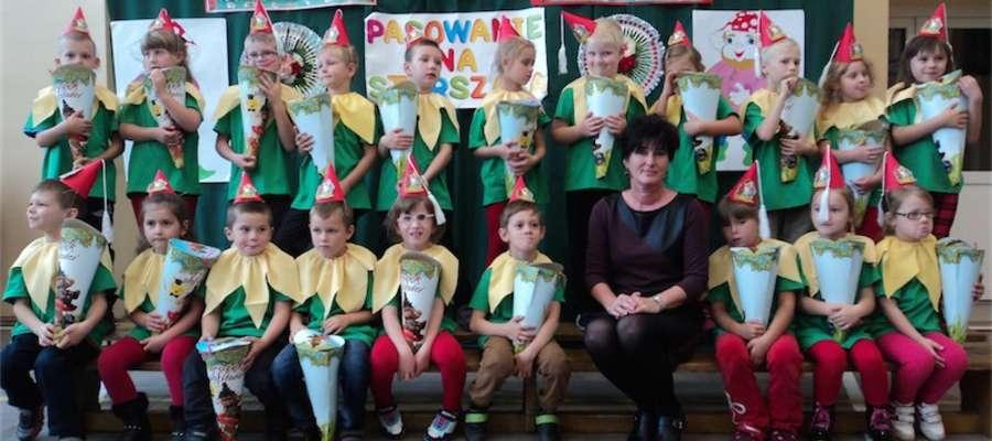 Bractwo Krasnali z kurzętnickiego przedszkola