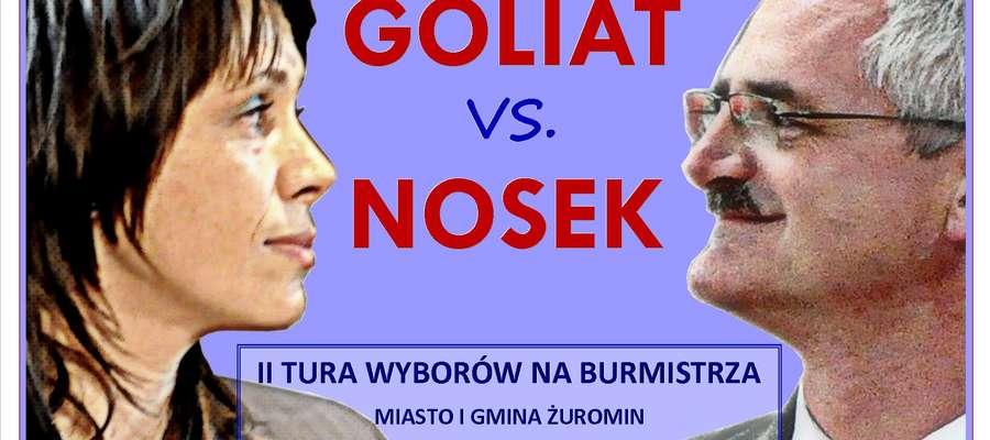 30 listopada zmierzą się Aneta Goliat i Zbigniew Nosek. Życzymy wam wielu sił