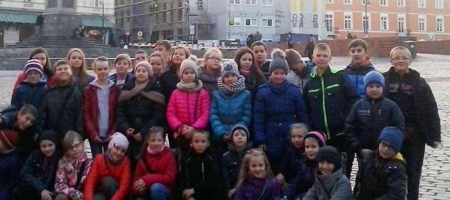 Była też okazja do spaceru po warszawskiej starówce