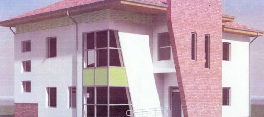 Wizualizacja nowego budynku KRus-u