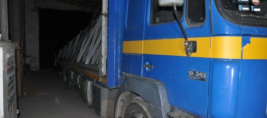 Ciężarówka została odnaleziona po kilkunastu godzinach
