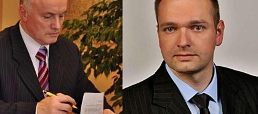 30 listopada zanosi się na emocjonującą rozgrywkę między Wiesławem Przedpełskim (z lewej) i Tomaszem Sobeckim