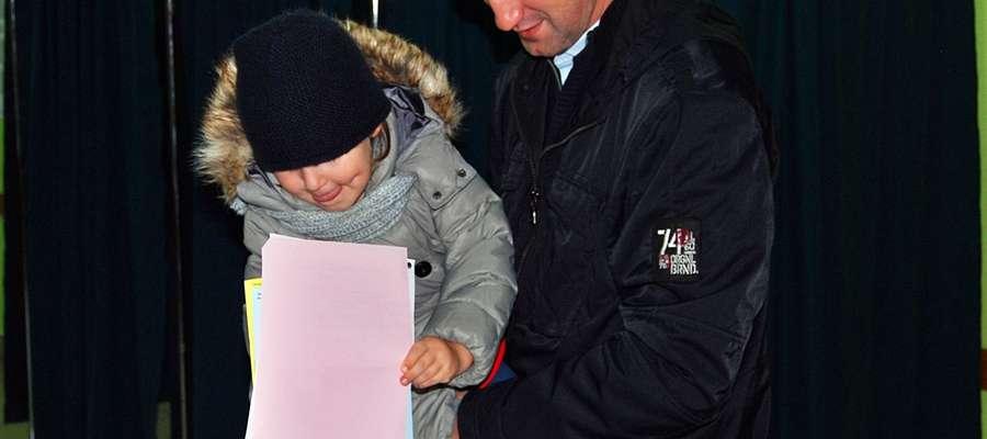 Foto z Obwodowej Komisji Wyborczej w Gimnazjum nr 1