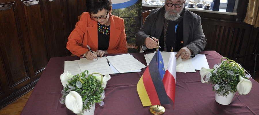 Podpisanie umowy partnerskiej o współpracy
