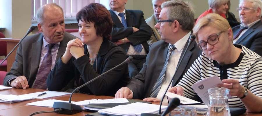 Jedno z ostatnich zdjęć sesji rady powiatu kadencji 2010 - 2014