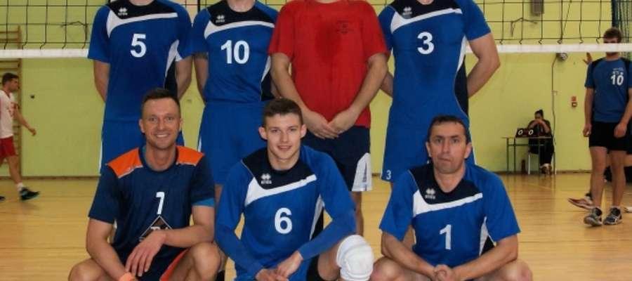 Team Cresovia Górowo Iławeckie podczas turnieju w Ornecie
