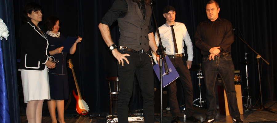 Zespół Molly Malone`s otrzymał nagrodę za udział w życiu kulturalnym Giżycka, wydanie płyty i promocję miasta