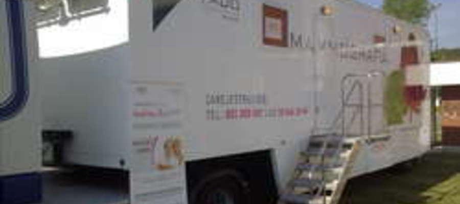 W listopadzie mammobus przyjedzie do Orzysza, Białej Piskiej oraz Rucianego - Nidy