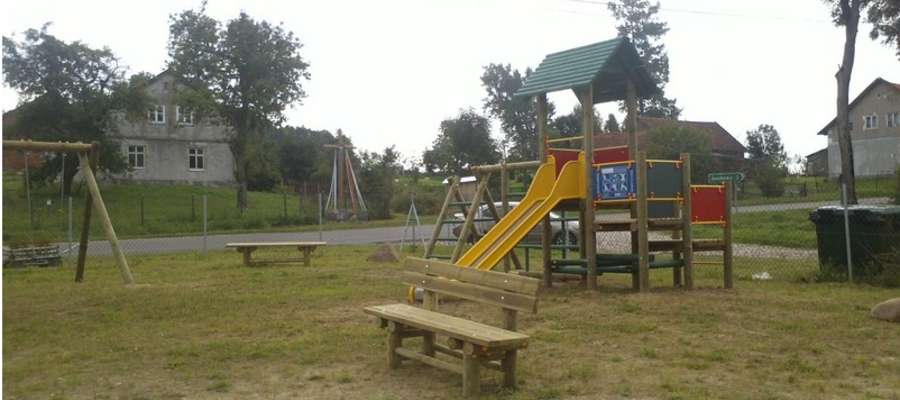 Plac zabaw w Zielenicy
