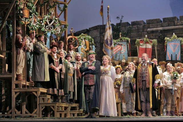 Opera prosto z Nowego Jorku: Śpiewacy norymberscy live w filharmonii - full image