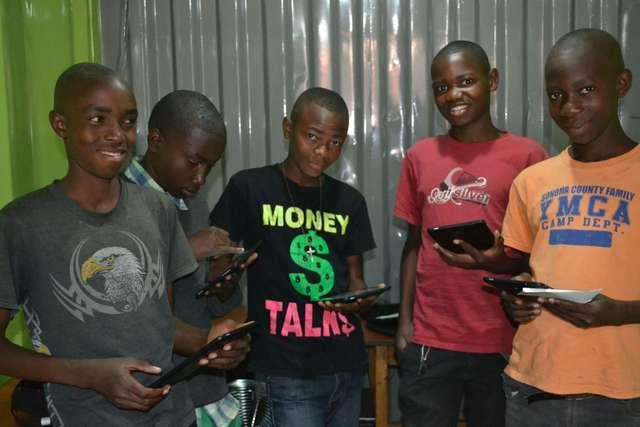 Uczniowie z Jamielnika angielskiego uczą się w Zambii - full image