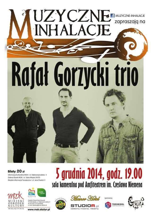 Muzyczne Inhalacje: Koncert grupy Rafał Gorzycki Trio  - full image