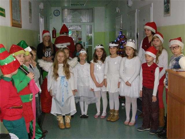 Podczas występu w szpitalu