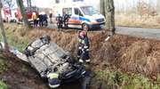 Nietrzeźwy kierujący spowodował wypadek i zbiegł z miejsca zdarzenia