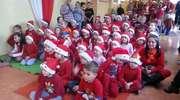 Mikołajki w Szkole Podstawowej w Słobitach