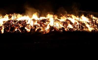 Groźny pożar w Koszelewach. Straty oszacowano na pond 90 tys. zł