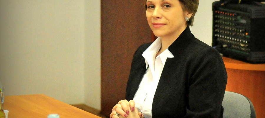 Burmistrz Gminy i Miasta Żuromin Aneta Goliat