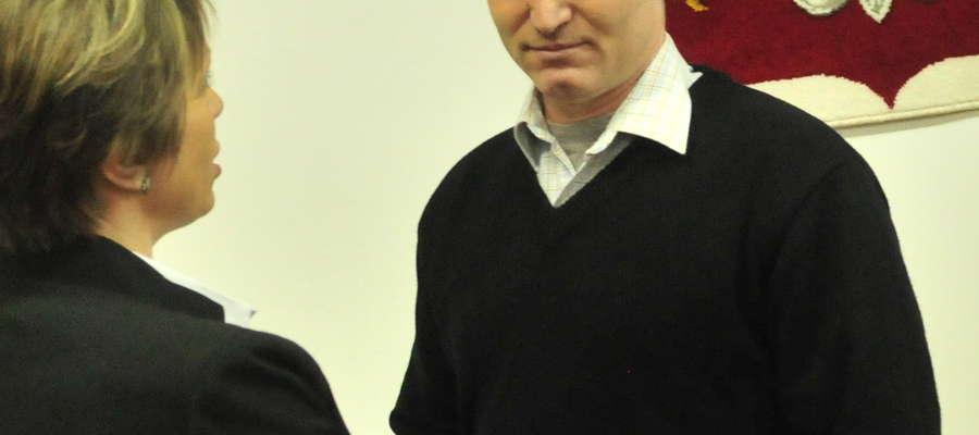 Piotr Wlizło prosił Radę i burmistrz o pieniądze na Sylwestra