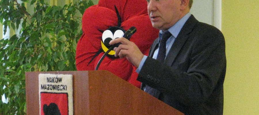 Lech Gadomski często gościł na sesjach rady miasta