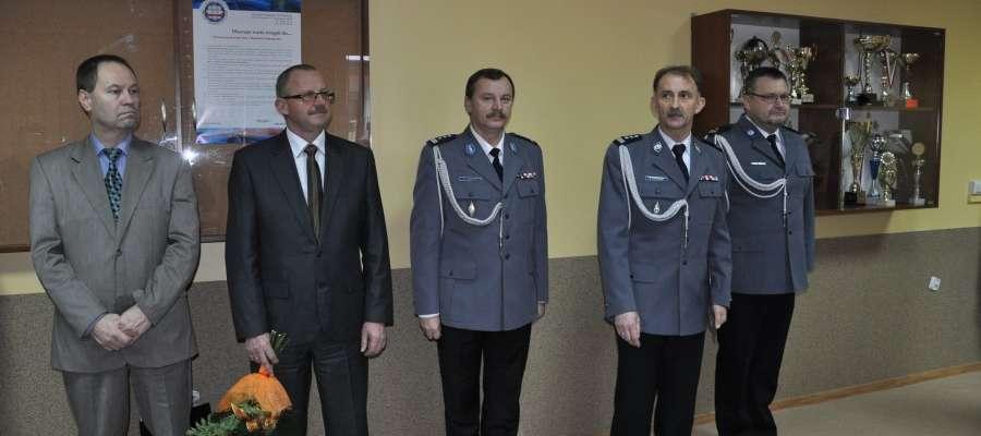 Komenda ma nowego zastępce Komendanta (pierwszy z prawej)