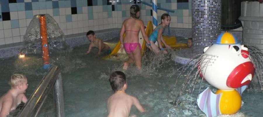 Na basenie było mnóstwo zabawy
