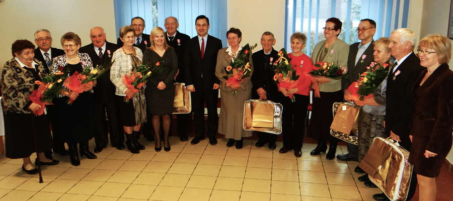 Wspólne zdjęcie uczestników jubileuszowego spotkania