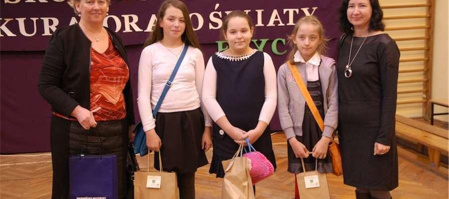 Delegacja z Gwiździn w Małdytach
