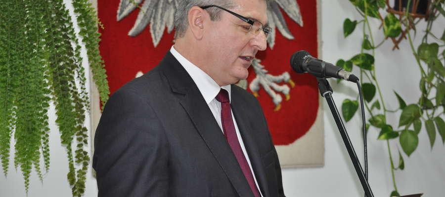Wojciech Stępniak, nowy burmistrz Białej Piskiej
