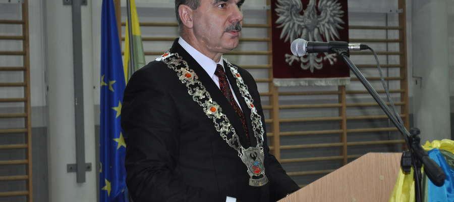Zbigniew Włodkowski, nowy burmistrz Orzysza