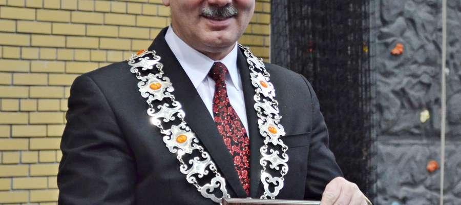 Burmistrz Orzysza Zbigniew Włodkowski