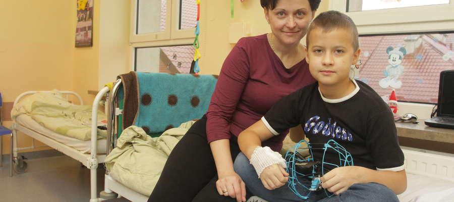 — Marzę o tym, żebyśmy te święta spędzili w domu — mówi Wioletta Gruźlewska, mama 10-letniego Patryka