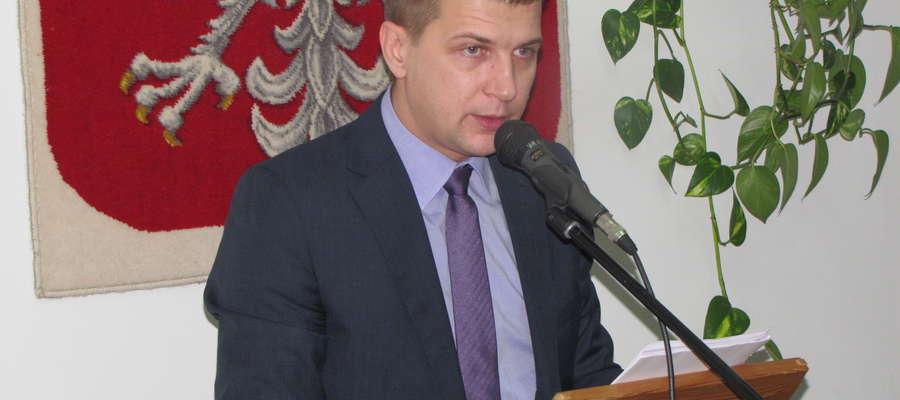 Przewodniczącym Rady Miejskiej w Białej Piskiej został Marek Grabowski