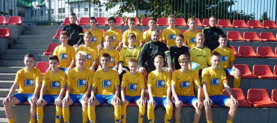 Piłkarze Naki Olsztyn wygrali turniej eliminacyjny w Białymstoku