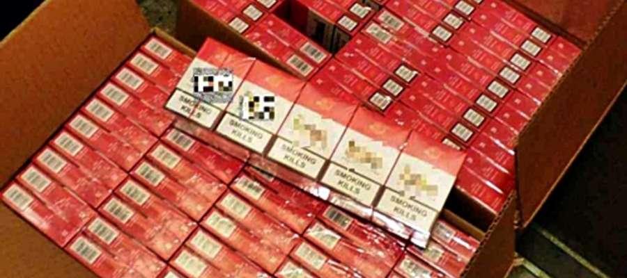 """Namierzone przez płońskich ,,kryminalnych"""" papierosy najprawdopodobniej miały trafić na lokalny rynek"""