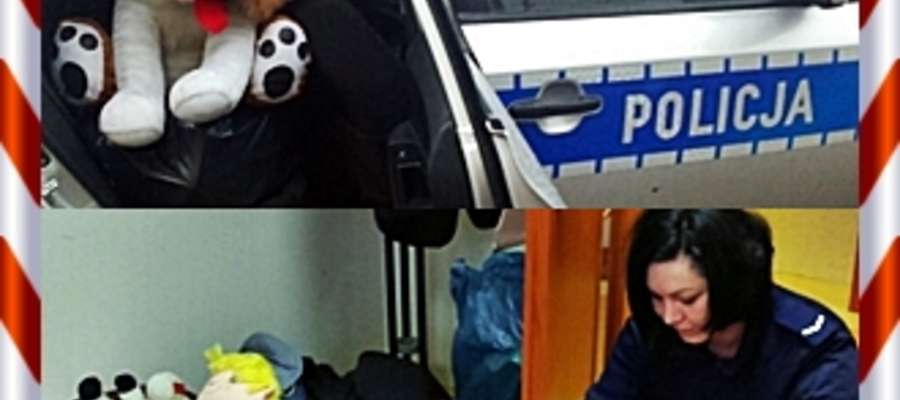 Policjanci w akcji, tym razem przed świętami odwiedzają potrzebujące rodziny i wręczają im ufundowane przez siebie paczki