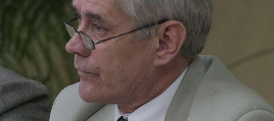 Janusz Więcek po raz czwarty z rzędu został wybrany przewodniczącym rady w Kisielicach
