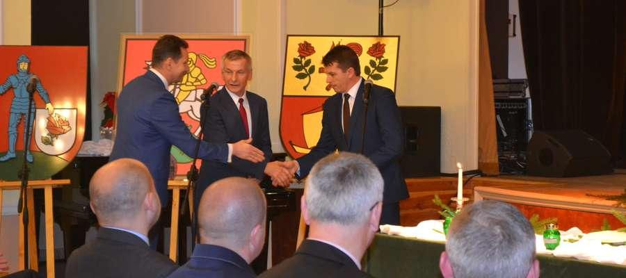 Opłatkowe spotkania samorządowców z Ostródy, to już coroczna tradycja