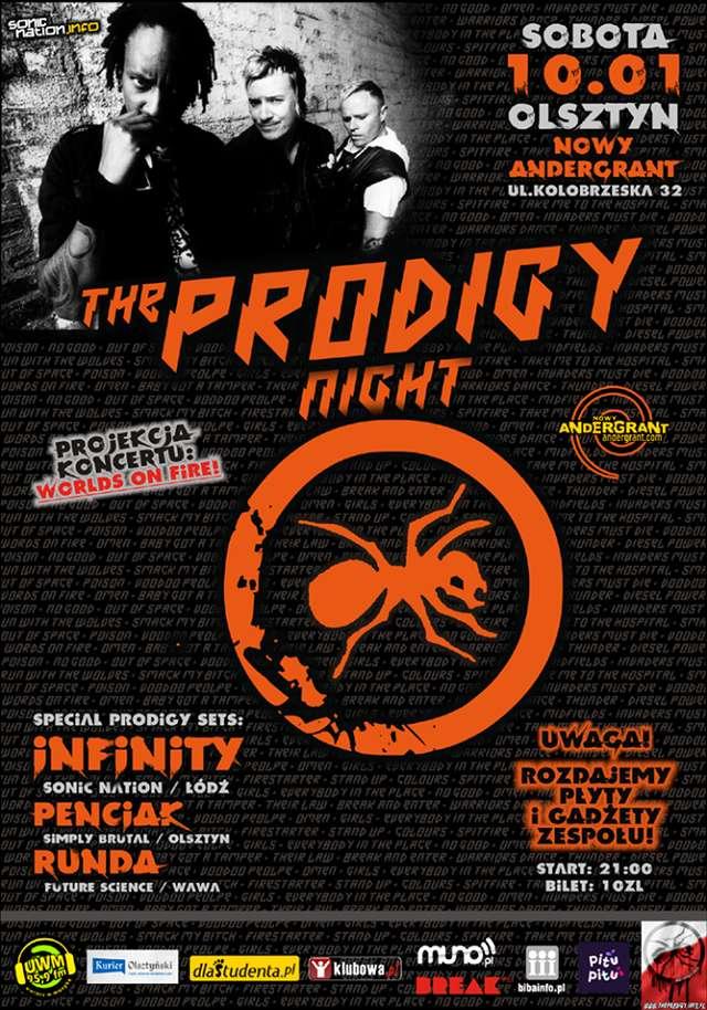 Sonic Nation oraz Nowy Andergrant prezentują: THE PRODIGY Night w Olsztynie - full image