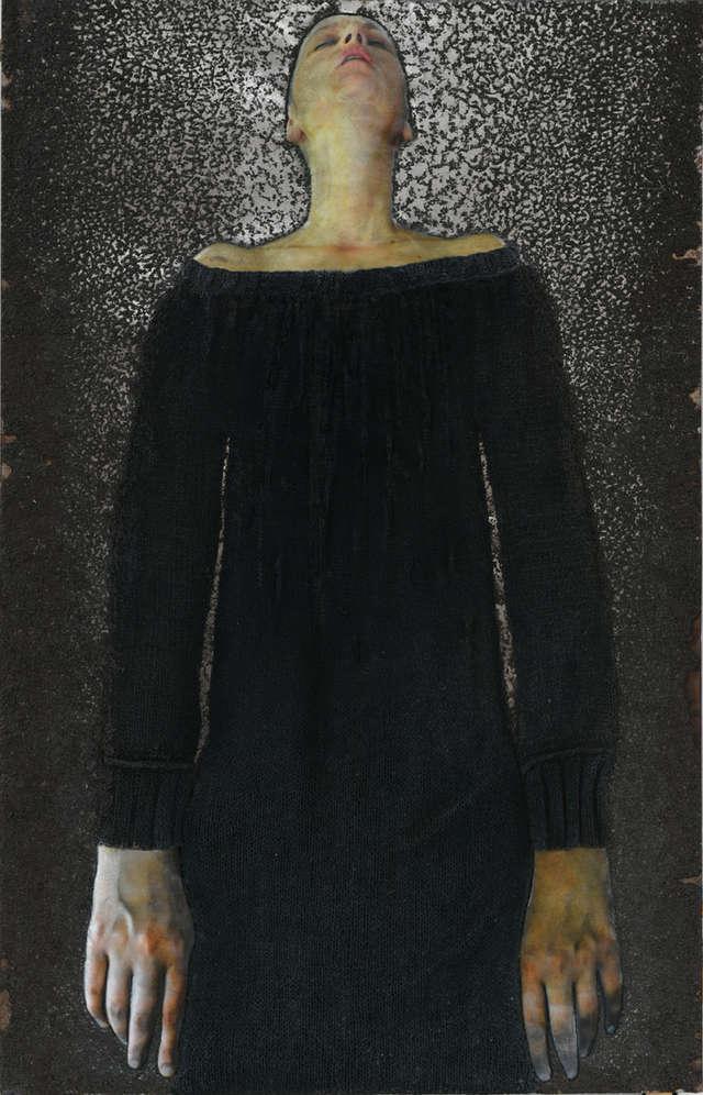 Melancholia Anny Drońskiej w Starej Kotłowni - full image