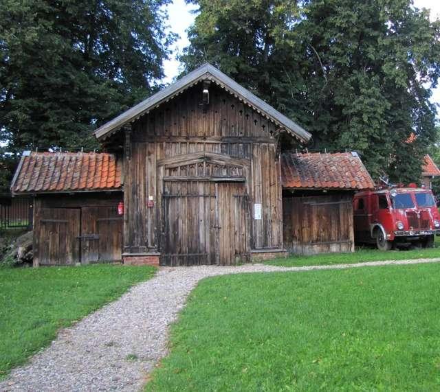 Remiza strażacka w skansenie w Węgorzewie - full image