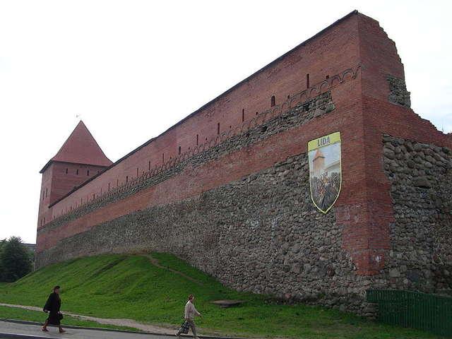 Zamek Giedymina w Lidzie - full image