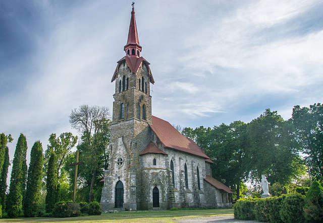 Kościół w Łosiaczu - full image